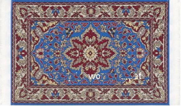 alfombra para casa de muecas