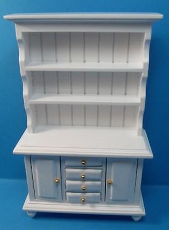 Mueble aparador blanco para casa de mu ecas miniatura esc - Mueble aparador blanco ...