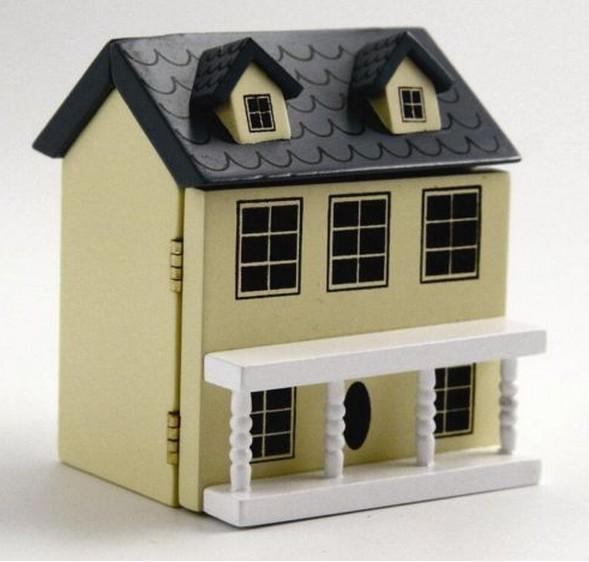 Casita miniatura para casa de mu ecas esc 1 12 todocapricho - Casa de munecas eurekakids ...