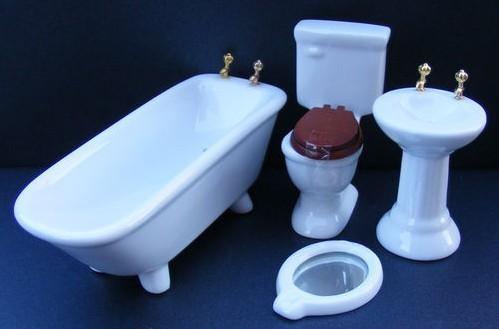 Cuarto de baño casa de muñecas: lo que no veras en museos las ...
