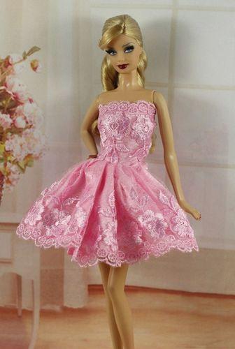Vestido Para Barbie O Muñeca Similar