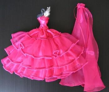 Vestido De Novia O Fiesta Para Barbie O Muñeca Similar Nuevo 221